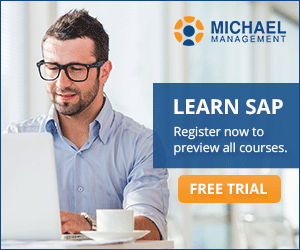 SAP GUI training - SAP S/4 HANA trainings with free trial